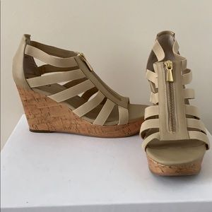 BOGO 50% off Abound Tan Wedges